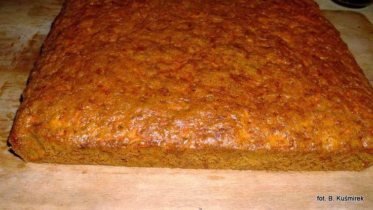 Ciasteczkowy potwór: Ciasto marchewkowe