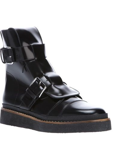MARNI - buckle fastening ankle boot 6