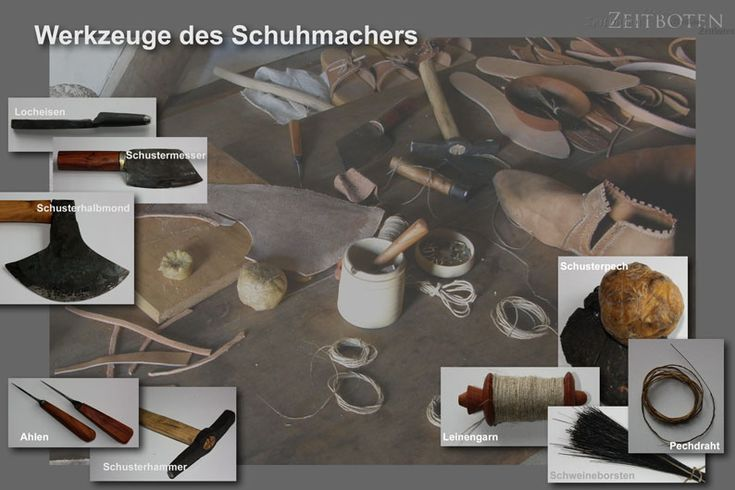 Medieval shoemaker tools