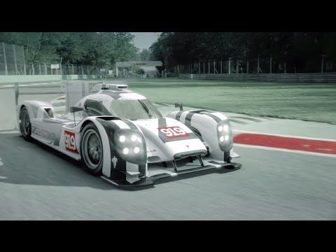 After a 16-year absence, Porsche is back in the racing car line up for LMP1, the highest class, with the 919 Hybrid. Learn more about its identity in this clip.