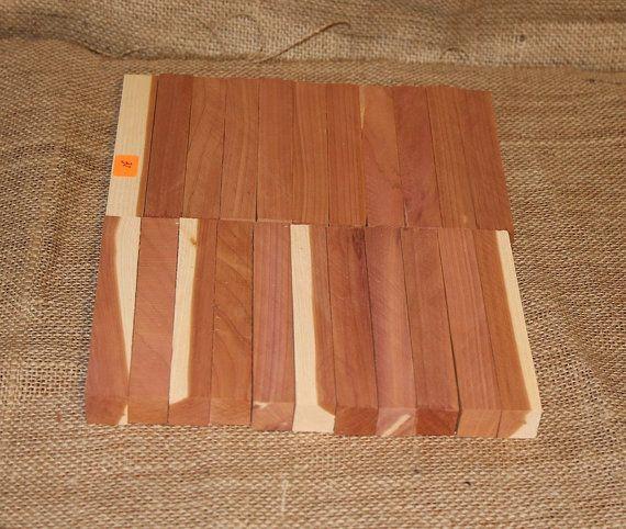 Pen Blanks 22 Aromatic Eastern Red Cedar Pen Blanks by woodhut