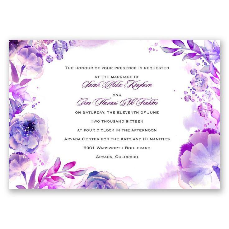 18 Best Custom Wedding Invitations Images On Pinterest