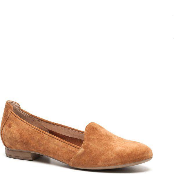 2016 Manfield Instappers Dames - Cognac Loafers Online Kopen