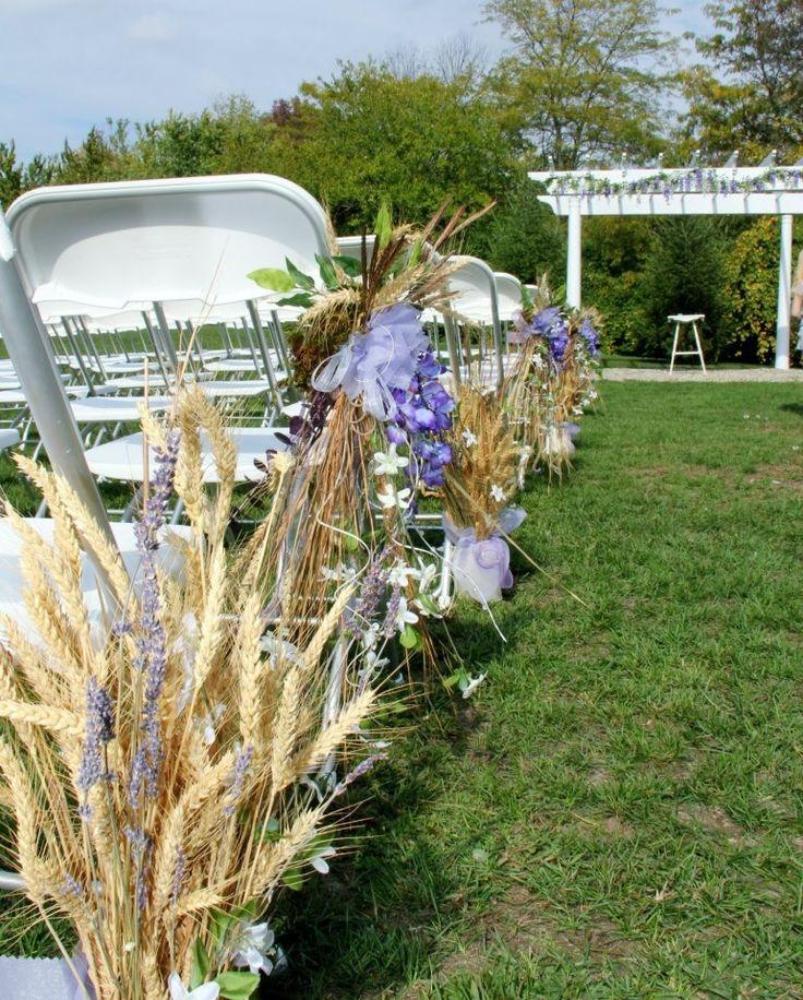 Bride isle decorations | Isle decorations | wedding