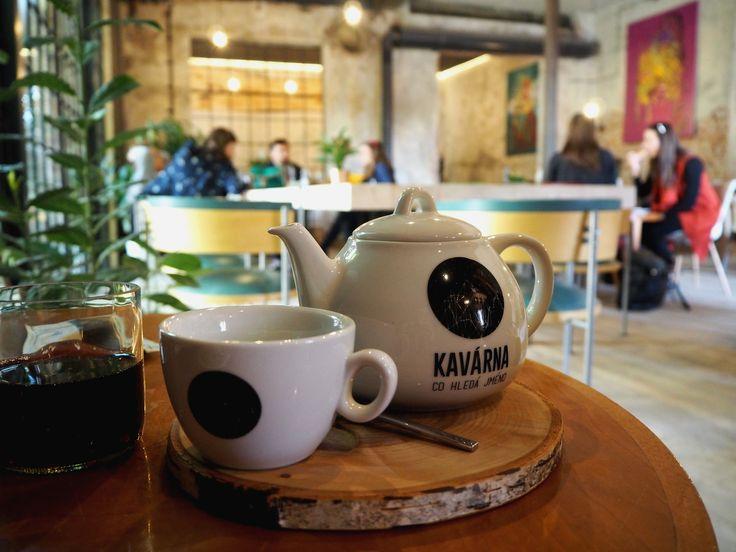 SPOTTED BY @soffamag | #soffa #soffamag #kavarnacohledajmeno #cafe #coffeehouse #Prague #bricks #industrial #urban #street #minimalism #minimalistic #design #interior #wood #handmade #DIY