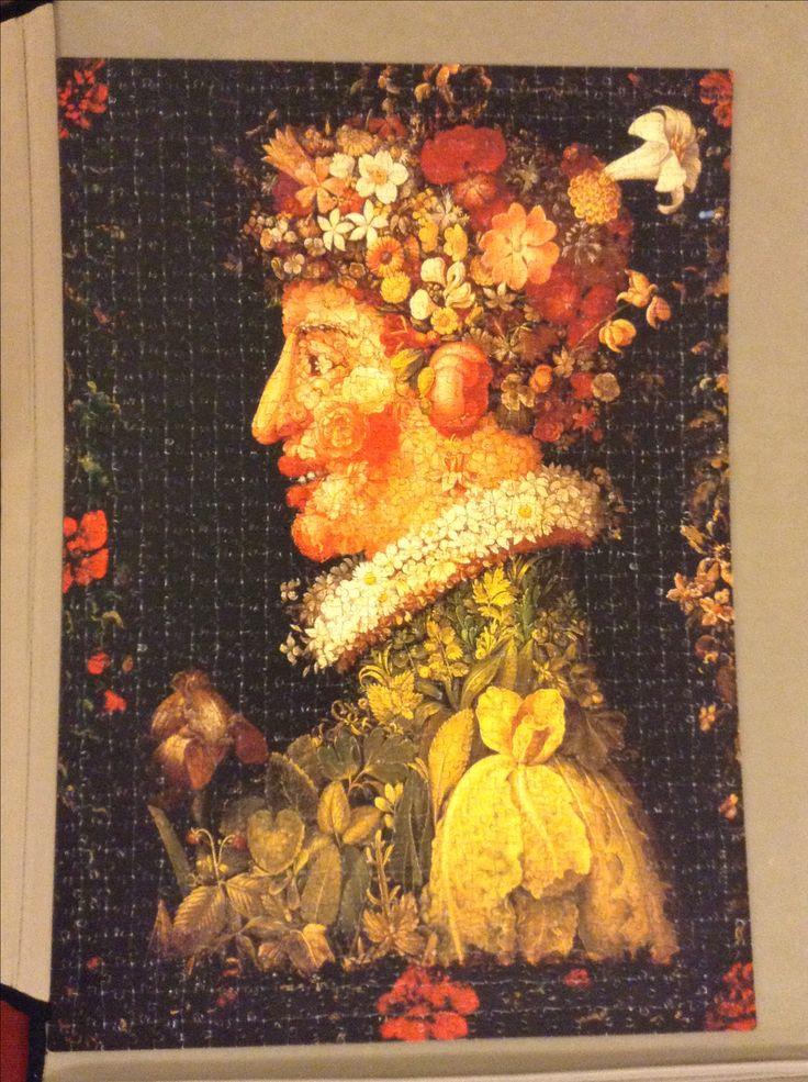 Arcimboldo ... A man who knew something about flowers, fruit & veg!