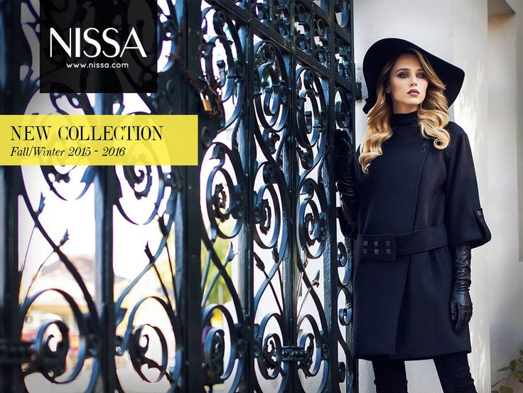 www.nissa.com  #nissa #fashion #coat #hat #model