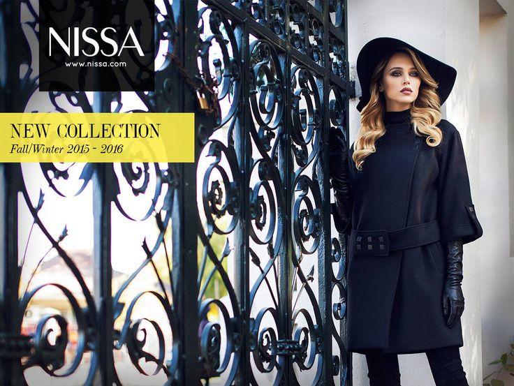 www.nissa.com  #nissa #fashion #coat #hat #model