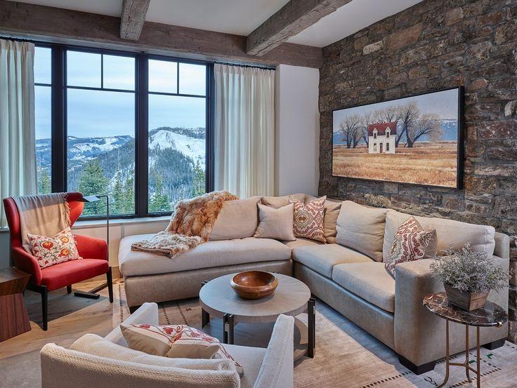 Die Besten 25+ Steinwand Wohnzimmer Ideen Auf Pinterest | Steinwand Innen,  Tv Wand Beleuchtung Und Steinwand