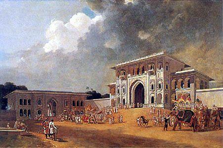 William Daniell, Gates of Lucknow, 1801
