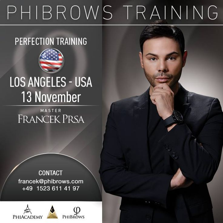 Don't miss the opportunity to learn from THE BEST ! November 13  Perfection training