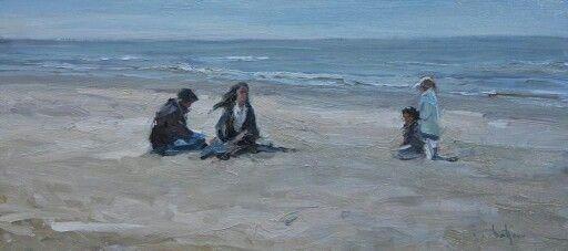 Strand en wind