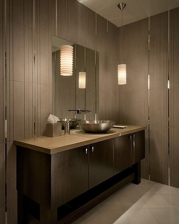 7 Essential Tips For Modern Bathroom Ideas For A Stylish Look Houseminds Interior Kamar Mandi Kamar Mandi Modern Pencahayaan Kamar Mandi