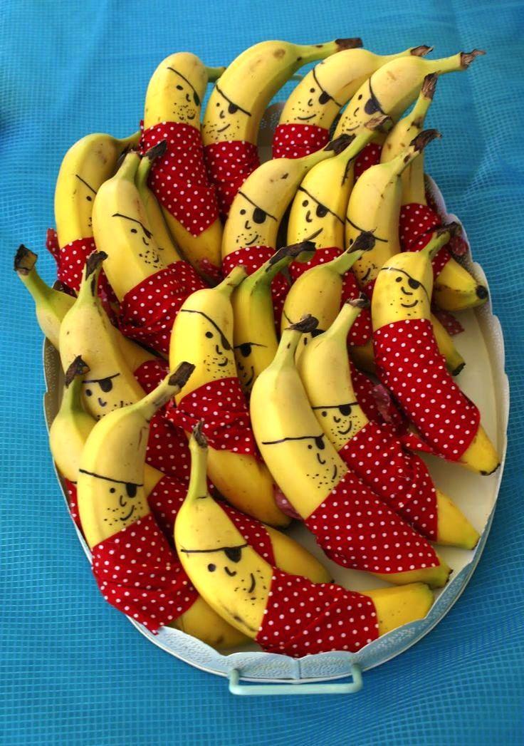 pirat bananer