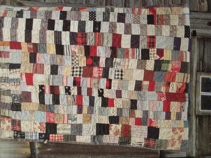 193 Best Images About Denim Woven Plaid Quilts On