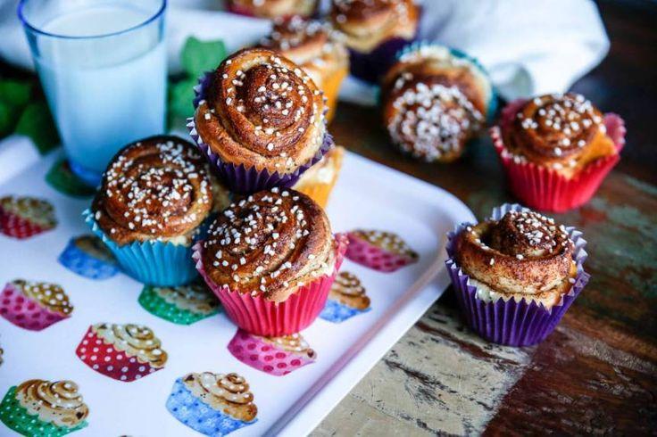 Kanelbullar i muffinsform, underbart goda!