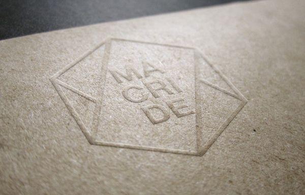 Corporate Id. // Macride // Maurizio Cristiano  Denise by Maurizio Pagnozzi, via Behance