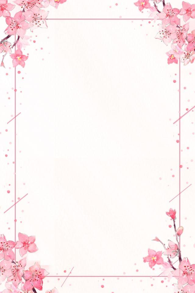 Summer Solstice Pink Bouquet Chinese Style Poster Background Poster Bunga Desain Latar Belakang Bunga Cat Air