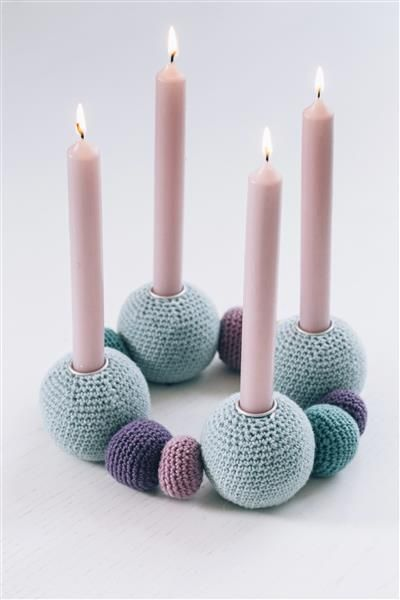 Tema 40: 35 Adventsstake #jul #strikk #christmas #knit