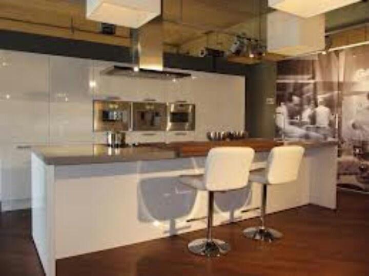 12 best images about keuken on pinterest - Eiland in de kleine keuken ...