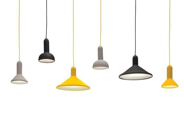Established And Sons S1 Cone Torch Pendant Light By Sylvain Willenz In 2020 Pendant Light Torch Light Unique Floor Lamps