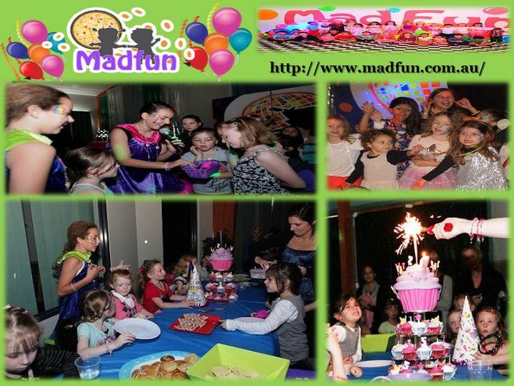 Best Madfun Kids Disco Birthday Parties Organizer Images On - Children's birthday parties melbourne