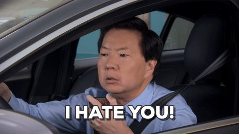hate i hate you ken jeong dr ken #humor #hilarious #funny #lol #rofl #lmao #memes #cute