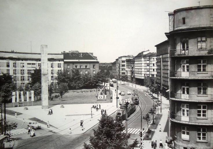 Plac Inwalidów. Kraków, 1971 rok.