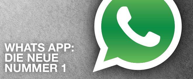 Eilmeldung: WhatsApp überholt Facebook! Was wir nun zu befürchten haben und was diese – zugegeben etwas skurril klingende - Meldung aussagt, lesen Sie in unserem aktuellen Blogbeitrag!