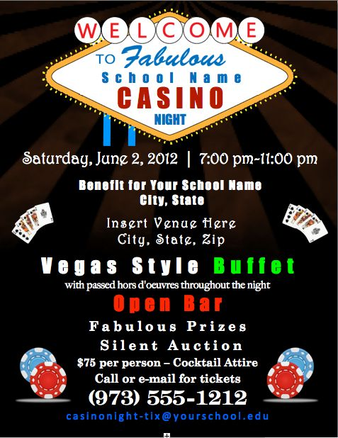 School casino night list northern california indian casinos