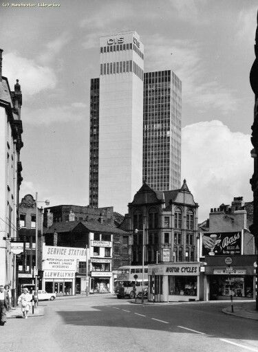 My dad worked here at this time. CIS Building, Miller Street 1962, Manchester.