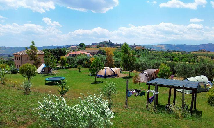 Agriturismo Villa Bussola in Monsampolo del tronto , Italy | Campr Campsite