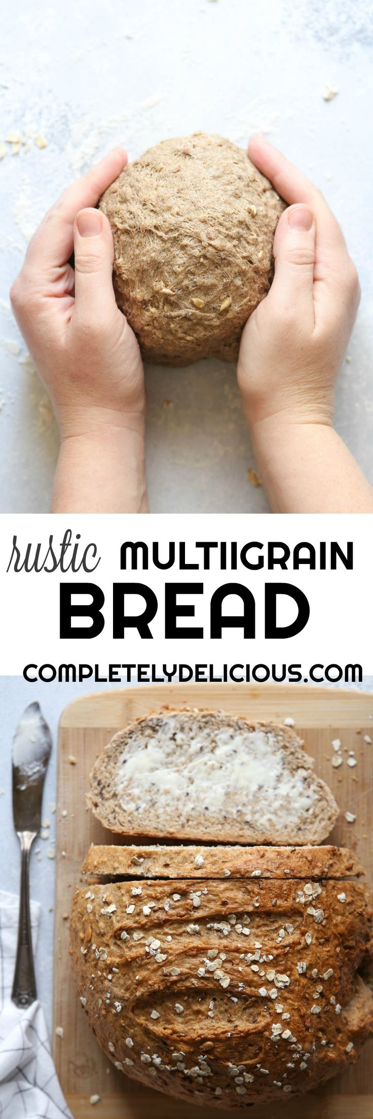 Rustic Multigrain Bread