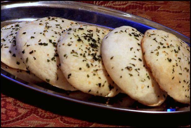 Indian Mini Garlic Naan Recipe Breads, Appetizers with sugar, dry yeast, flour, warm water, ghee, salt, garlic cloves, plain yogurt, fresh coriander, chopped parsley, ghee, salt