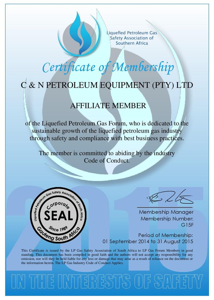 Proud members of the LPG Safety Association #22Yrs&stillgoinstrong https://lnkd.in/dczeBdB