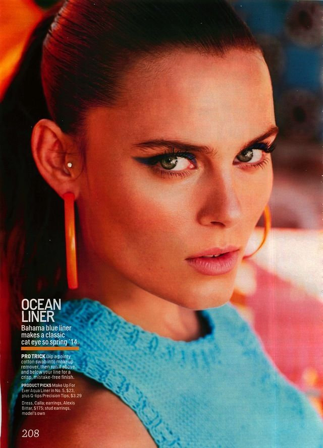 Cosmopolitan Editorial Beauty and the Beach, March 2014 Shot #2