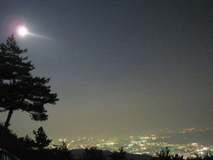 六甲山山頂 展望台 Mt. Rokko observatory