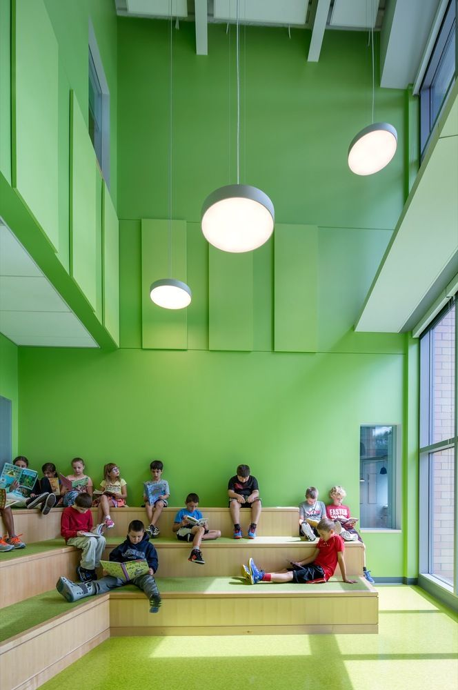 Gallery of Woodland Elementary School / HMFH Architects - 16