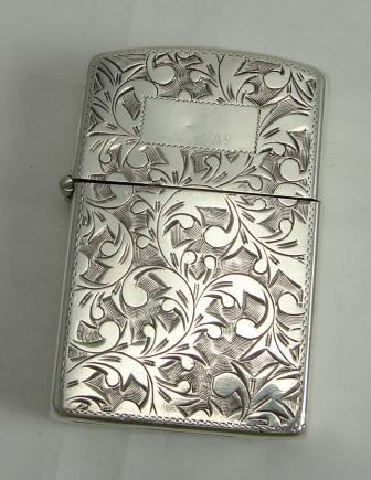 Vintage Silver Lighter!! Love this! : ) My mom carried this lighter for over 20 yrs.