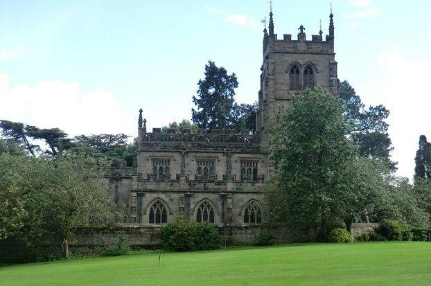 Staunton Harold: Defying Cromwell with a Church.