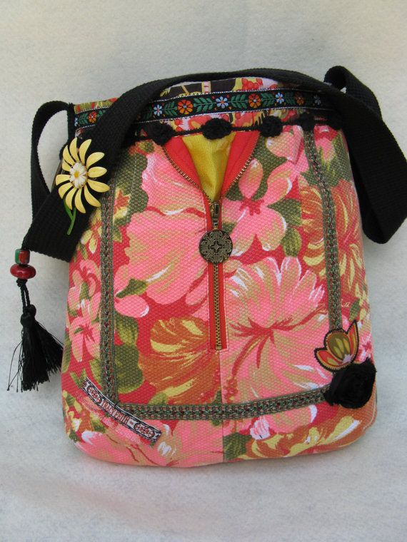 Beautiful Boho style Purse made from Tracy Feith by FruitfullHands, $75.00