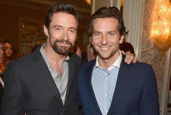 Hugh Jackman and Bradley Cooper