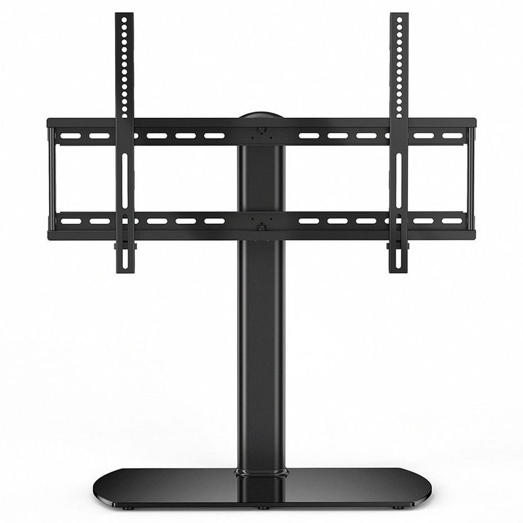 Tabletop TV Stand Mount Height Adjustable Swivel 32 to 65 Inch Flat Screen TV #Fenge #Contemporary