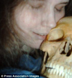 A Swedish woman of 37 whose name was not revealed, was arrested in September 2012 for having had sex with skeletons. Her house was full of skulls and bones.