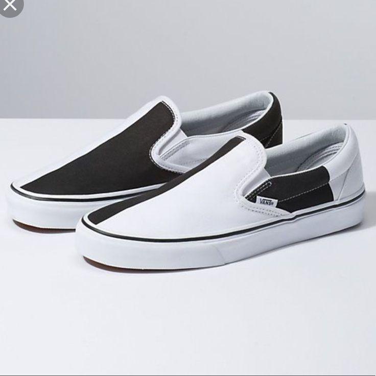 Vans Shoes | Vans Slip Ons Black And