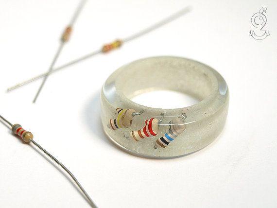 Resistance useless  electrotechnical ring by GeschmeideUnterTeck