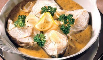 Rybie filé s horčicovou omáčkou