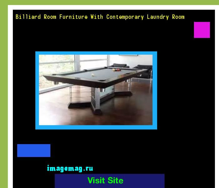 Billiard Room Furniture With Contemporary Laundry Room 200528 - The Best Image Search