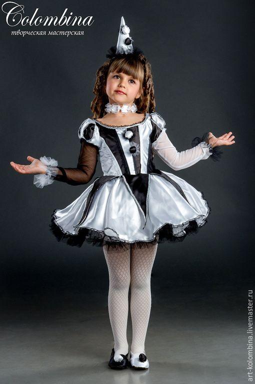 костюм клоунессы - Olga (art-colombina) - Ярмарка Мастеров http://www.livemaster.ru/item/10796309-raboty-dlya-detej-kostyum-klounessy