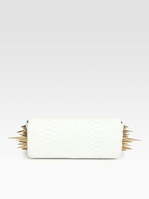 Spiked clutch by Louboutin...yes yes yes